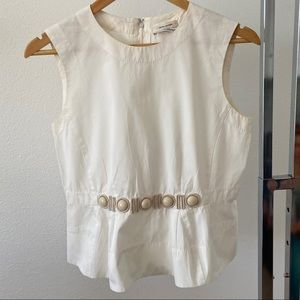 Marc Jacobs Collection Top Sleeveless Sz 4